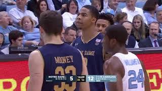 Notre Dame at North Carolina  NCAA Men's Basketball February 12, 2018