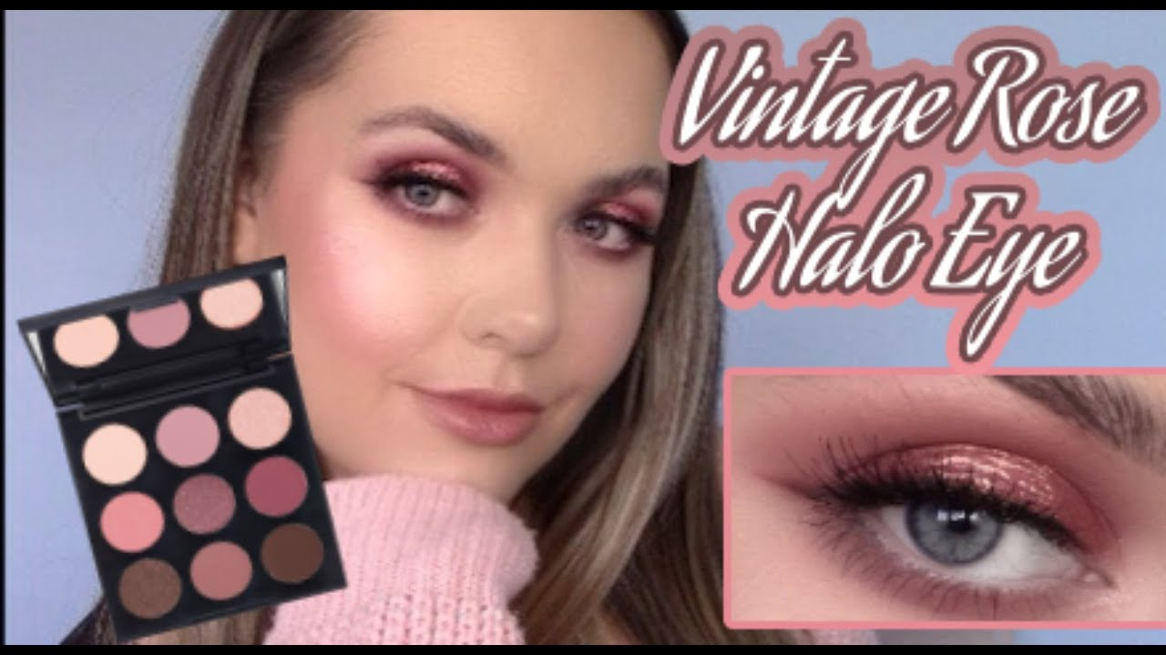 Shimmering Rose Halo Eye Morphe Vintage Rose Palette Youtube About 13% of these are makeup brush set. shimmering rose halo eye morphe vintage rose palette