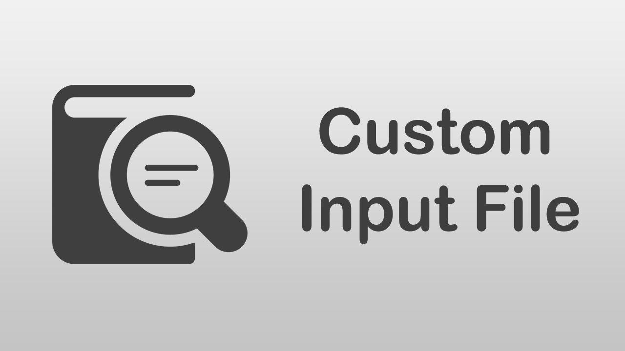 [ Arabic Tutorials ] How To Create Custom Form Input File