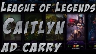 League of Legends - Caitlyn (Yuno) - Sexy AD Carry