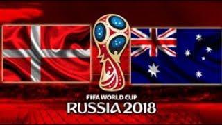 Dinamarca vs Austrália - 2018 FIFA World Cup Russia