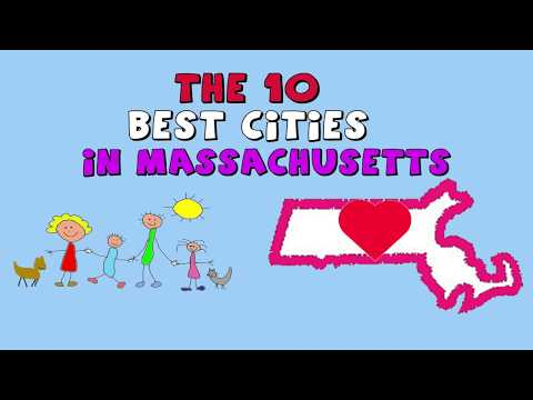 The 10 BEST PLACES to Live in MASSACHUSETTS
