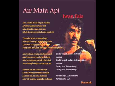 Iwan Fals - Air Mata Api