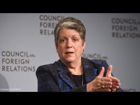Janet Napolitano Looks Back on Border Control, Cyber Policy, and Leadership in Homeland Security
