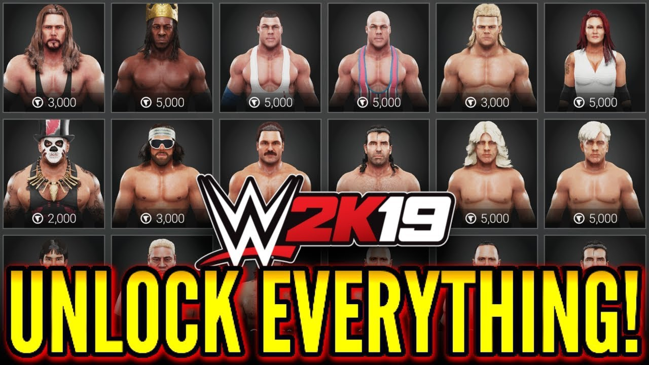 How do you Unlock WWE 2K19 Unlockables? - WWE 2K19