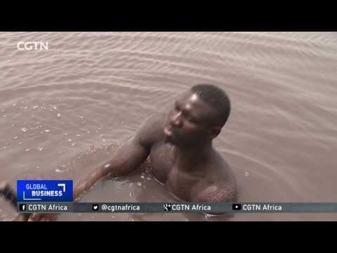 The Pink Lake, Lake Retba, a source of livelihood for thousands of Senegalese