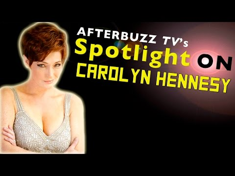 Carolyn Hennesy Interview | AfterBuzz TV's Spotlight On