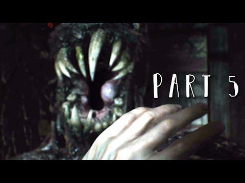RESIDENT EVIL 7 Walkthrough Gameplay Part 5 - Monsters (RE7)