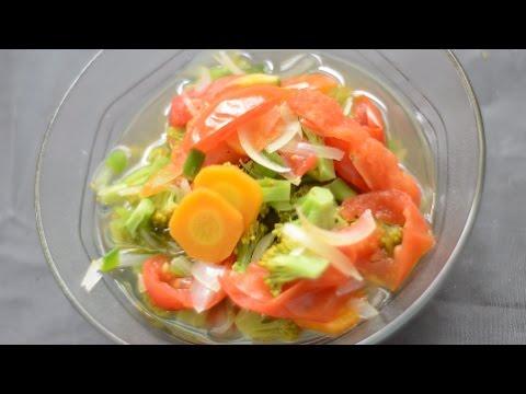 Diet Turun 5-7KG Seminggu Dengan Sup Pembakar Lemak