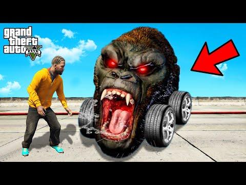 Stealing KING KONG CARS In GTA 5! |
