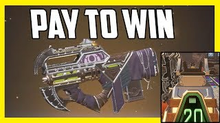 This NEW Prowler Skin Has Pay to Win Iron Sights - Apex Legends