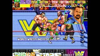 Gambar cover WWF Wrestlefest Arcade