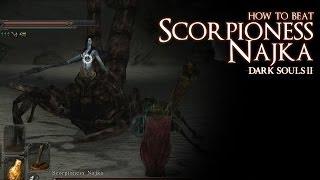How to Beat the Scorpioness Najka Boss - Dark Souls 2