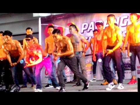 Monster nyata Padang Fitness Fair 2017 Kategori New Muscle