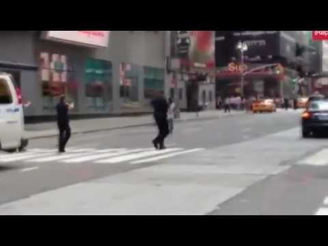 NYPD Police Shoot and Kill a Mentally Challenged Man Near Times Square In Manhattan