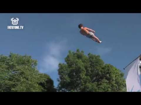 The Worlds Youngest Death Diving (Bellyflop) - Champion, EVER! TRULS TORP!