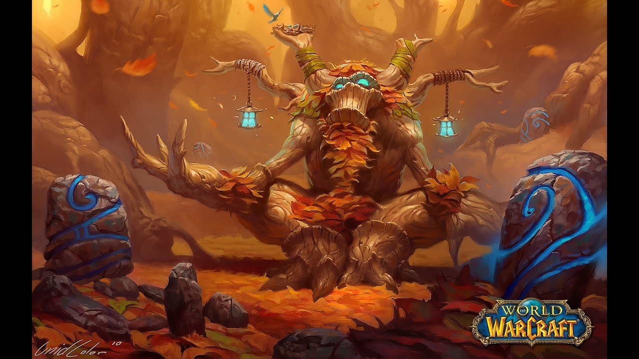 world of warcraft everybody dance now treant form style - YouTube
