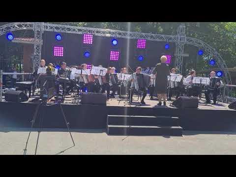 Отчётный концерт Полтавской