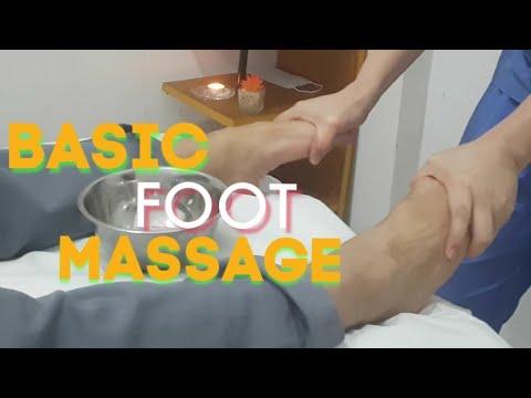 FOOT MASSAGE || FOOT REFLEXOLOGY