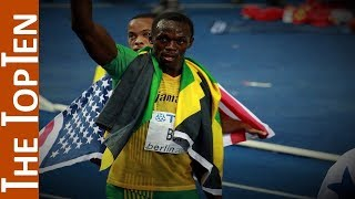 The Top Ten Fastest Men Of All Time (100 meters)