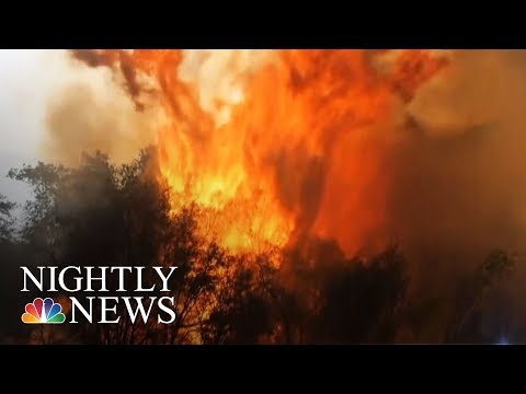 Families Face Wildfire Devastation As Firefighters Battle The Flames | NBC Nightly News