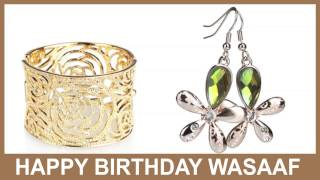 Wasaaf   Jewelry & Joyas - Happy Birthday