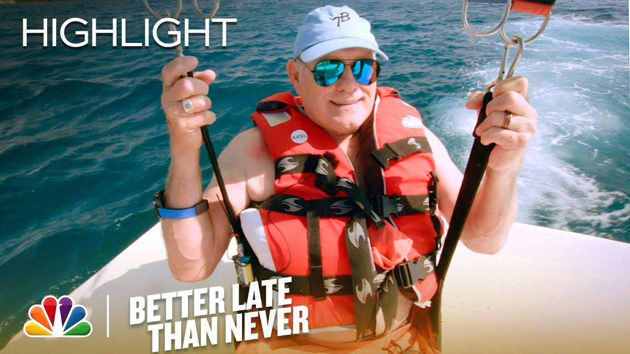 Download Better Late Than Never - Terry Bradshaw Gets Airborne (Episode Highlight)