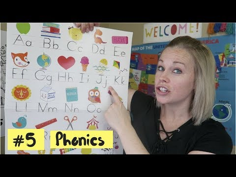 ESL Teaching Strategy #5: Phonics