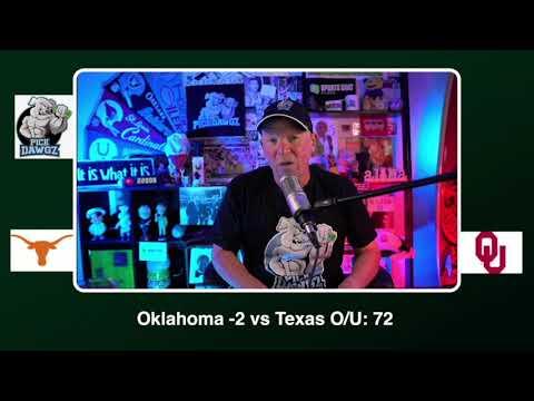 Oklahoma vs Texas Free College Football Picks and Predictions CFB Tips Saturday 10/10/20