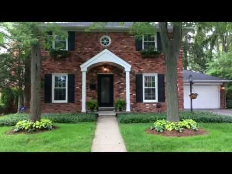 Brick House HD   Birmingham, MI  Real Estate Video Tour