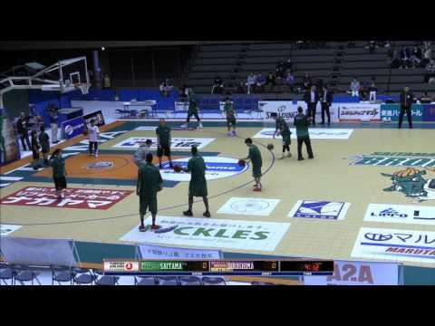 Saitama vs Hiroshima (2015-2016 Japanese BJ League)