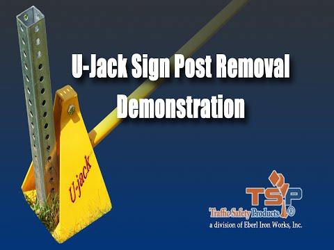 U Jack Sign Post Removal Tool