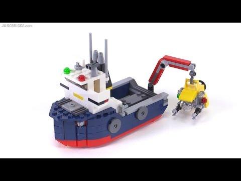 LEGO Creator 2016 Ocean Explorer - ALL 3 builds reviewed! set 31045