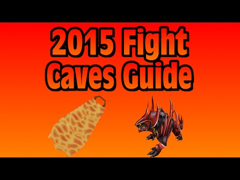 RS3: Ultimate Fight Caves l Fire Cape l TzTok Jad Guide - RuneScape