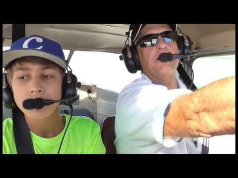 KCNO Young Eagle Flight Nov 2014 in HD