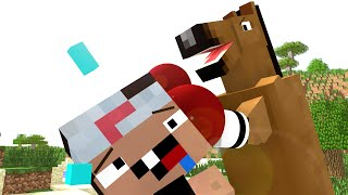 Horse Life - Craftronix Minecraft Animation