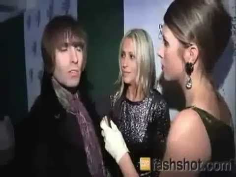 Liam Gallagher and Nicole Appleton - Drapers Awards 2010