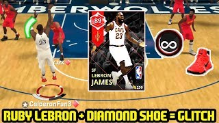 RUBY LEBRON JAMES + DIAMOND 3 PT SHOE= CHEESE! NBA 2K18 MYTEAM GAMEPLAY