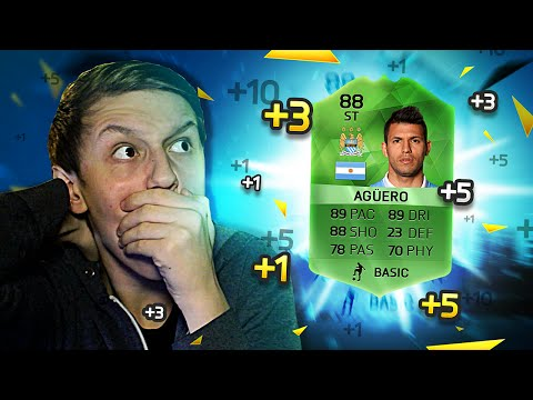OMG UPGRADED AGUERO!!! - (FIFA 16 Winter Upgrades Pack Opening)