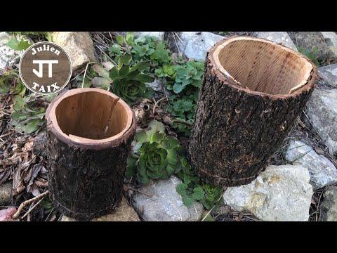 """DIY :  Pot """"Nature"""" scie à ruban"""