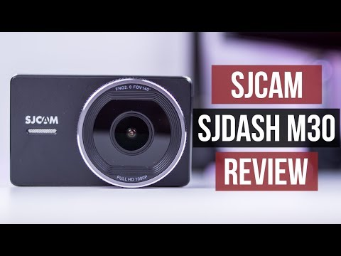 SJCAM SJDASH M30 Review | Budget DVR Dash Cam