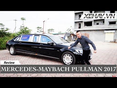 Đánh Giá Mercedes-Maybach Pullman 2017 - Sedan Siêu Sang Dài 6,5m | XE HAY