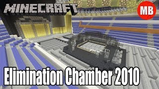 WWE Minecraft Arena | Elimination Chamber 2010!