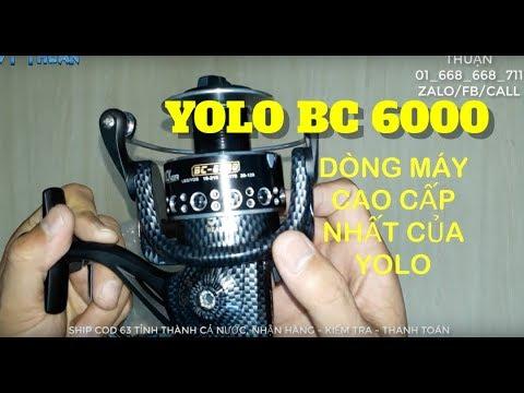 409K| REVIEW MÁY CÂU YOLO BC 6000 DÒNG SP CAO CẤP NHẤT CỦA YOLO [CÒN HÀNG]