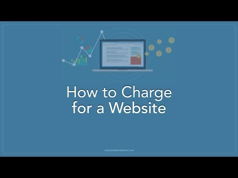 How To Charge For A Website