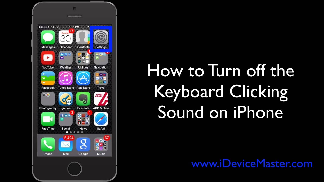 keyboard clicking sound annoying