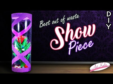 How to make showpiece for home decor   diy home decor   Best out of waste   DIY   Artkala 165