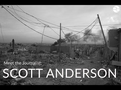 Meet the Journalist: Scott Anderson