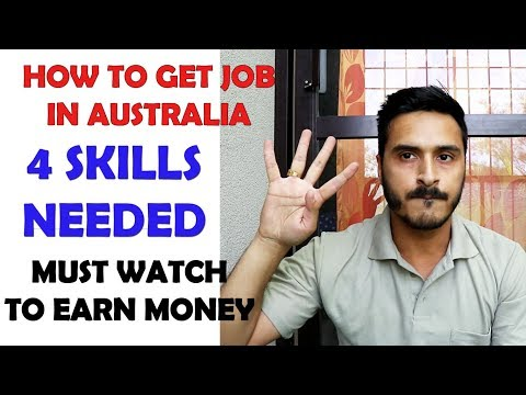 HOW TO GET HIGH PAY JOB IN AUSTRALIA EASILY || REALITY