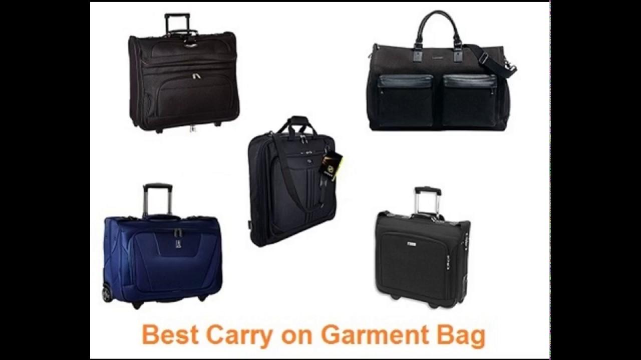 Best Carry On Garment Bag Reviews